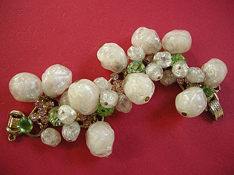 Playful Vintage Juliana Baubles and Beads Sugar and Spice Bracelet