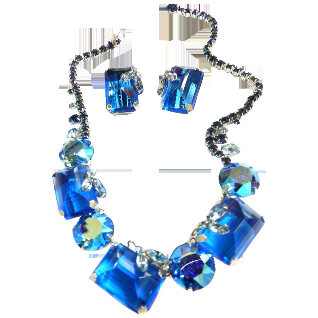 Mesmerizing Vintage Hattie Carnegie Humongous Necklace and Earrings