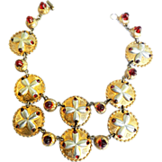 Magnificent Museum Quality Hattie Carnegie Necklace