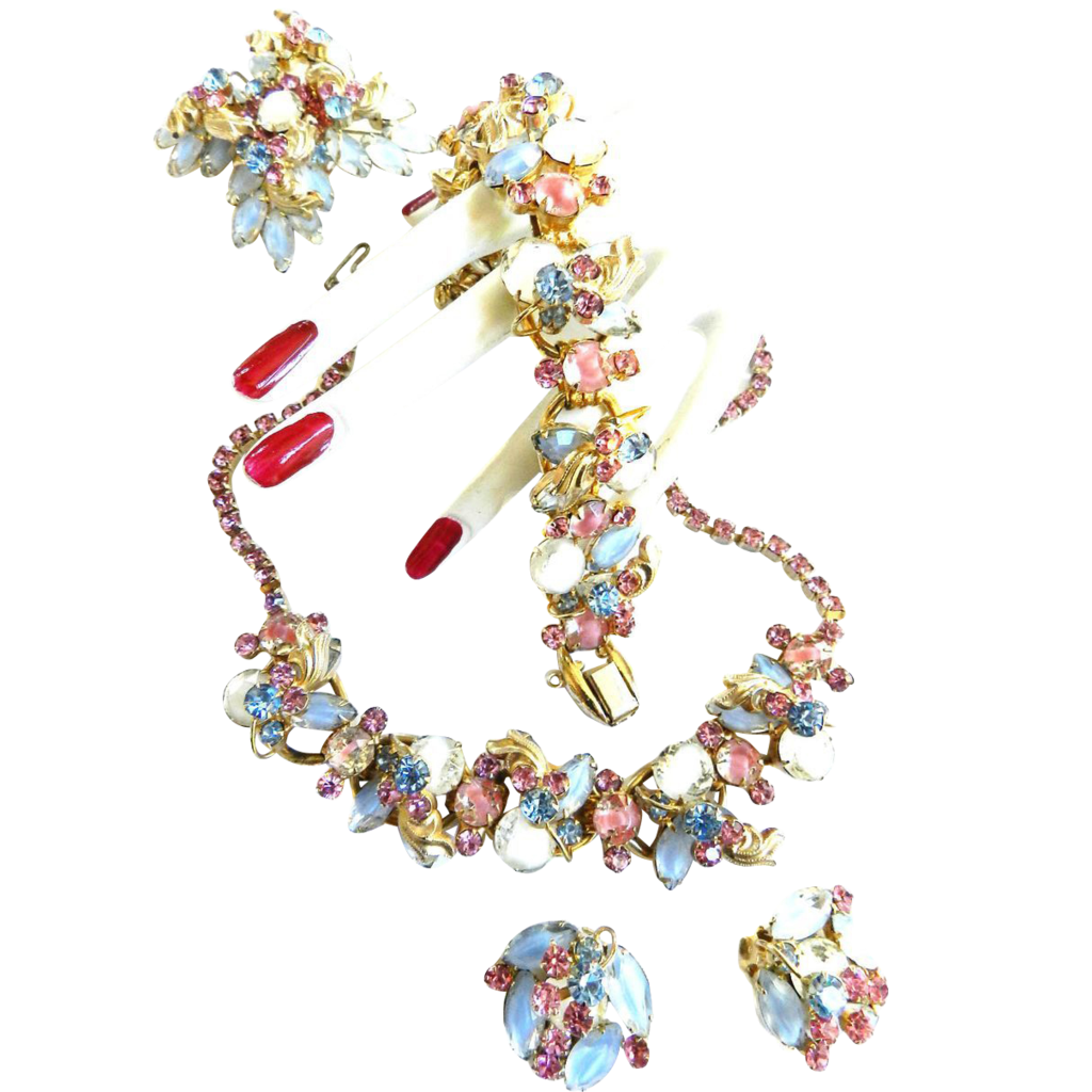 Show Stopping Juliana Grand Parure  Pastel Colors