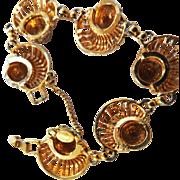 Hattie Carnegie Chunky Vintage C.1950s Bracelet
