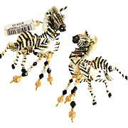 Lunch at the Ritz Vintage Born to be Wild Earrings