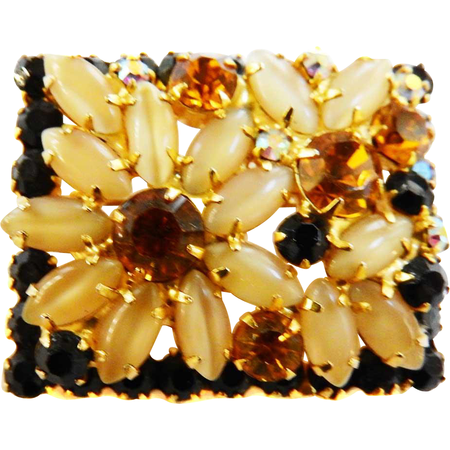 Hard to Find Juliana Daisy Brooch/Pin
