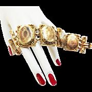 Vintage Hattie Carnegie Locket Bracelet 1950s