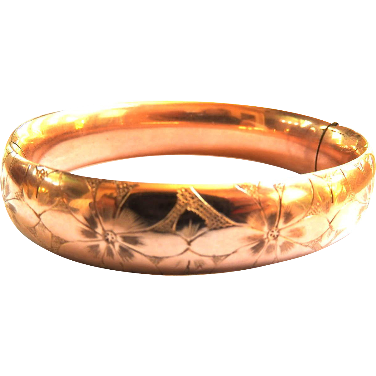 Beautiful Victorian  Late 1800s Bangle Bracelet