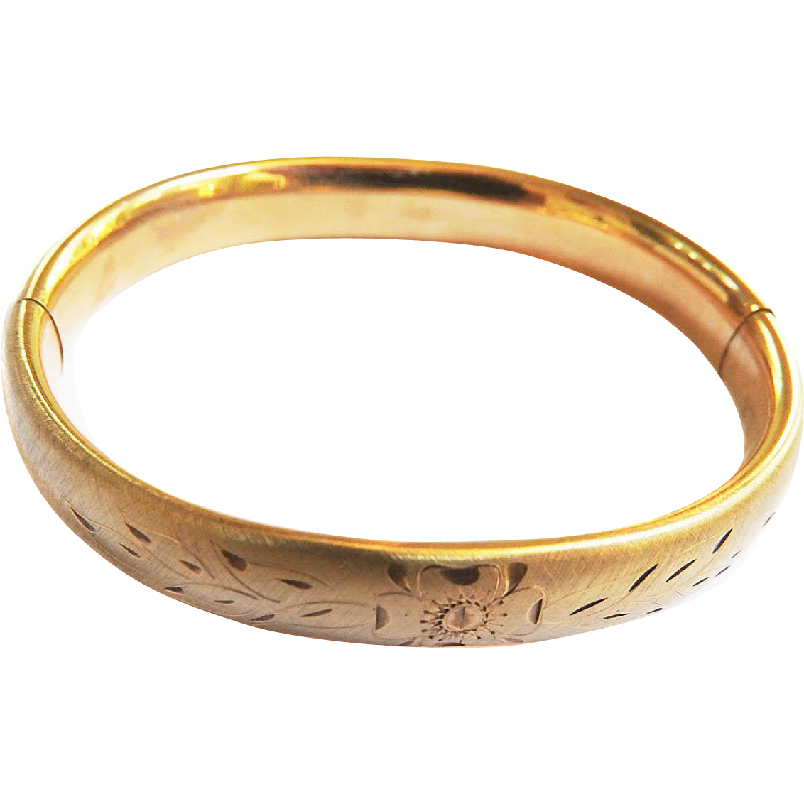 Victorian 12kt Gold Filled Bangle Bracelet