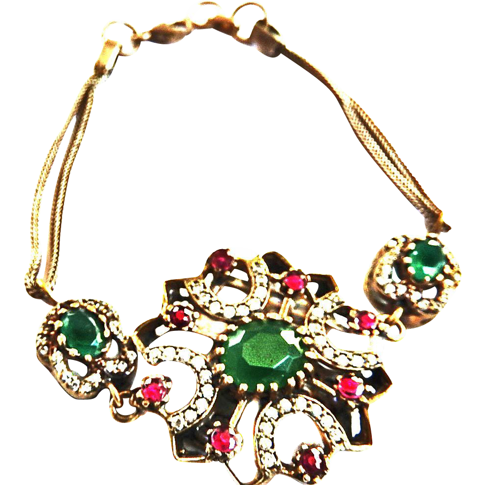 Beautiful Vintage Faux Stone Bracelet