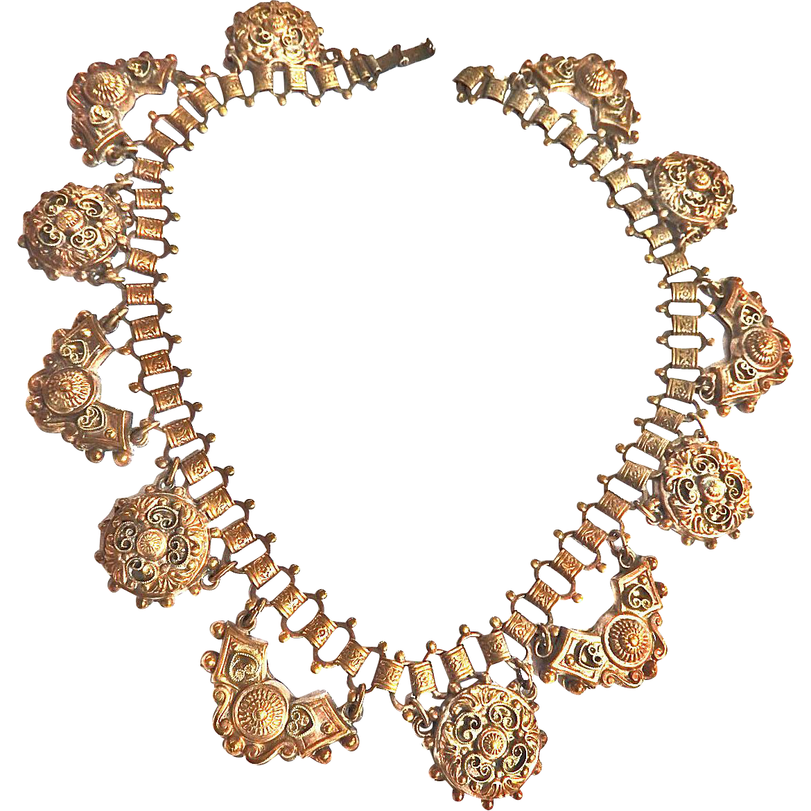 Very Early 1900s Victorian  Revival Collar Necklace