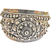 Exquisite Tibetian Cuff Bracelet Vintage