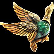Tortollani Mallard Duck In Flight