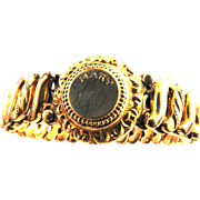WW2 Gold Filled Expansion  Bracelet DFB Carmen