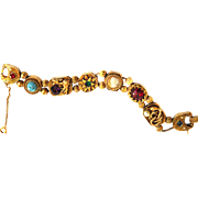 Griffins and Serpents Oh My Goldette Slide Bracelet
