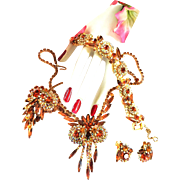Captivating Juliana Owl Tppaz Grand Parure