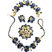 Exquisite Juliana Grand Parure Vintage