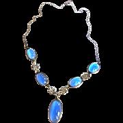 Vintage Moonstone Early 1900s Necklace Art Nouveau Style