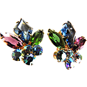 Vintage Juliana Clip Earrings