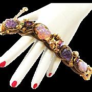 Rare Schiaparelli Lava Rock Bracelet