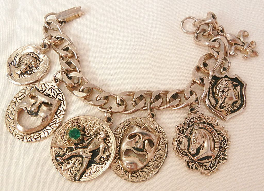 Old Fashioned Charm Bracelet