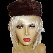 Classic Mahogany Mink Hat a Deborah Exclusive