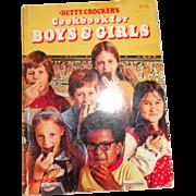Betty Crocker's Cookbook for Boys & Girls c. 1978
