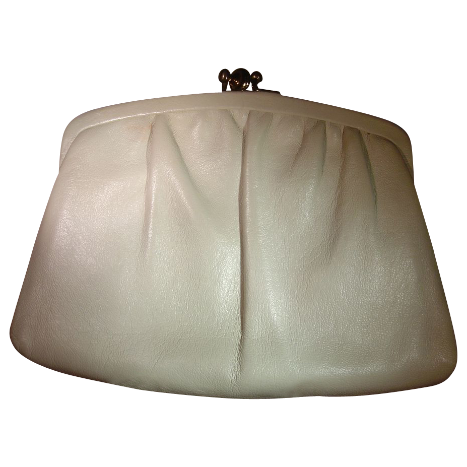Vintage Duo Compartment Convertible Clutch Handbag by Ande