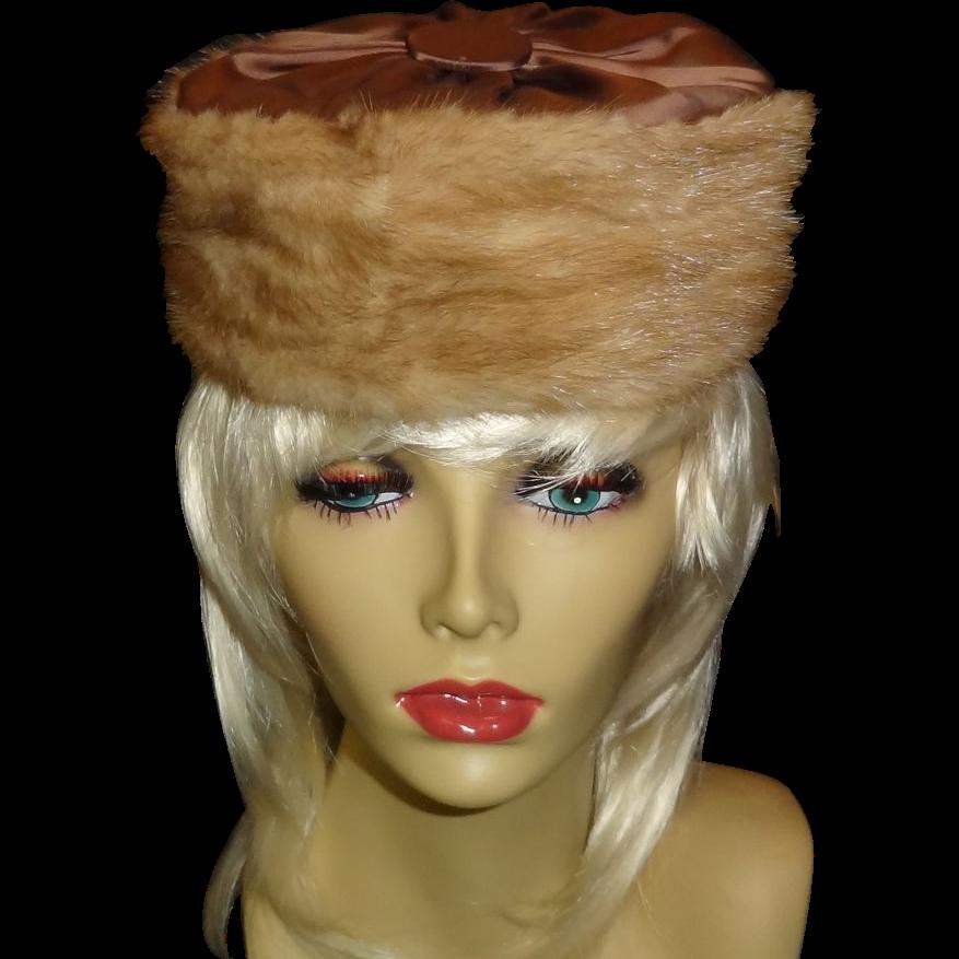 Vintage Mink Hat by Lora