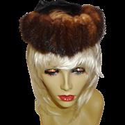 Vintage Mink Hat by Beresford