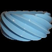 Vintage Spiral Molded Plastic Bangle Bracelet Made in Western Germany