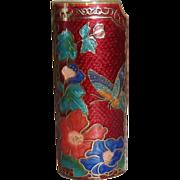 Vintage Cloisonne Lighter Cover New Old Stock