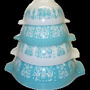Vintage Pyrex Amish Butterprint Cinderella Bowls