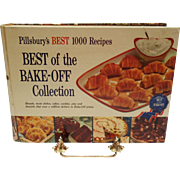 Pillsbury's BEST 1000 Recipes BEST of the BAKE-OFF Collection c. 1959