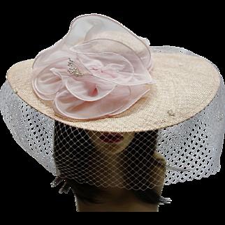 Vintage Light Pink Hat by Sonni San Francisco