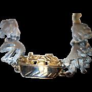 Vintage Noah's Ark Panel Bracelet