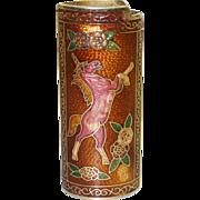 Vintage Cloisonne Unicorn Lighter Cover