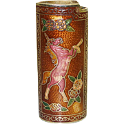 Vintage Cloisonne Unicorn Lighter Cover