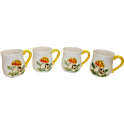 Sears Merry Mushroom Mugs c. 1977