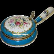 Vintage Porcelain Silent Butler Crumb Catcher