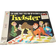 Twister Game by Milton Bradley Original 1966 Edition
