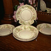 "6 Syracuse China ""Dearborn"" Fruit Bowls"