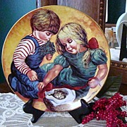 "Jo Anne Mix ""Christmas Love"" 1982 Plate"