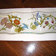"Dorothy Thorpe Eames Era ""California Wildflowers"" Divided Tray"