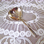 National Silver Company Nut Spoon