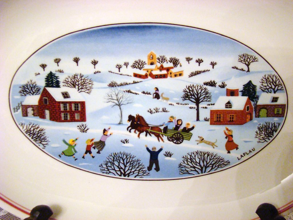 Villeroy boch pickle dish naif christmas laplau from for Villeroy boch naif