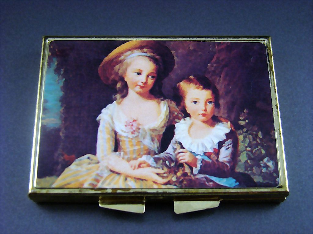 Portrait Pill Box ~ Children of Marie Antoinette