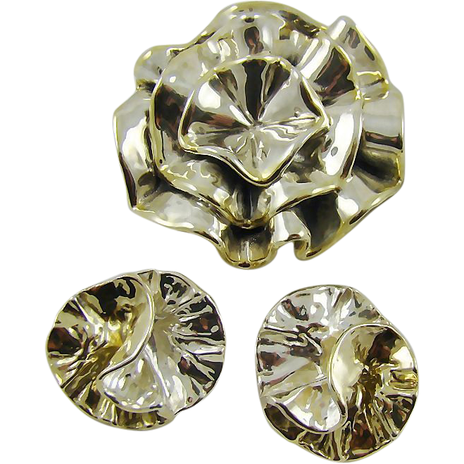 David Varsano Israel Sterling Vintage Set