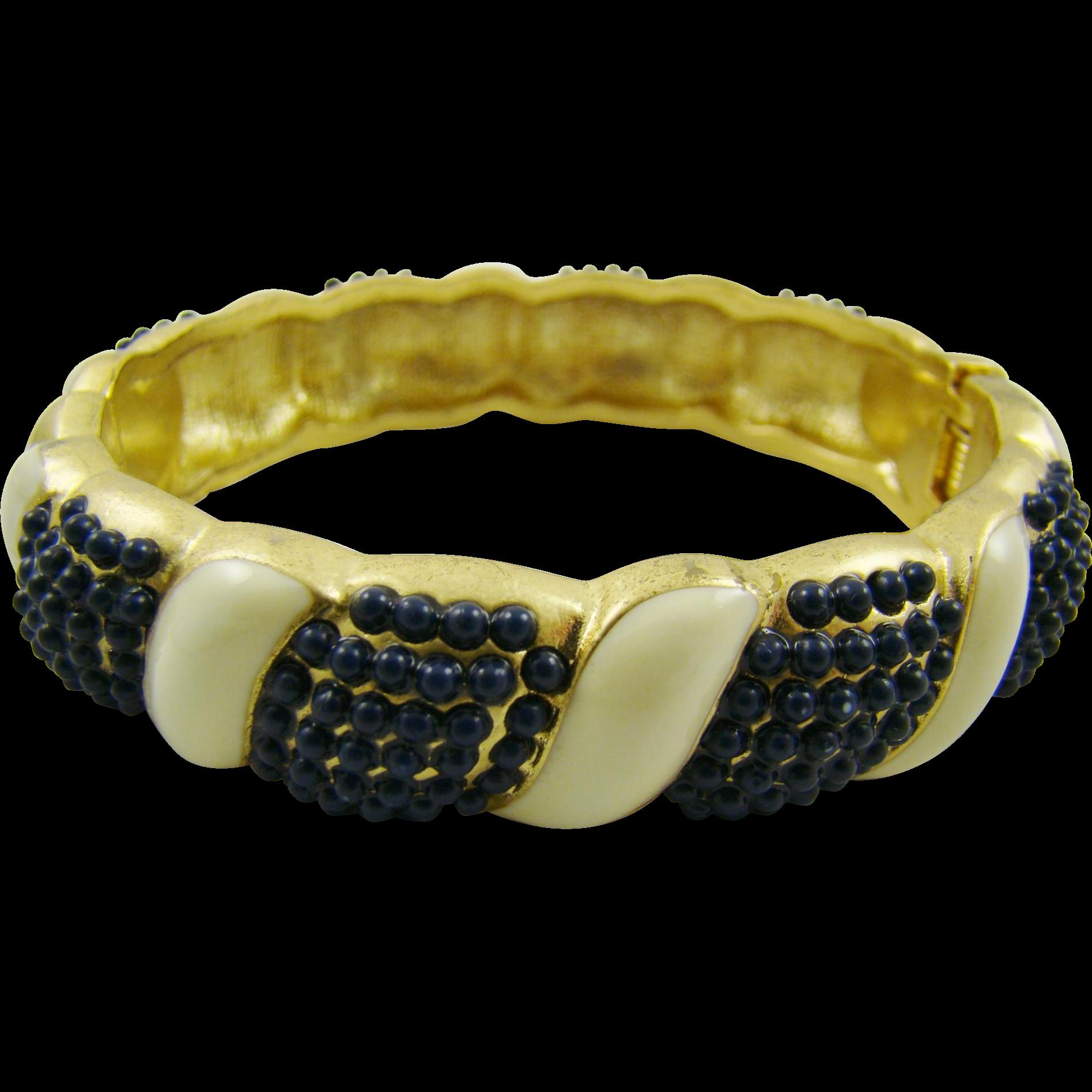 Vintage Banana Republic Magnetic Clamper Bracelet