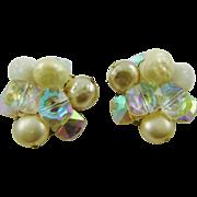 Stunning Vogue Baroque Imitation Pearl Earrings