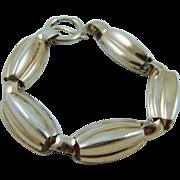 Napier Sterling Melon Shaped Bracelet