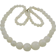 Beautiful White Quartz Necklace