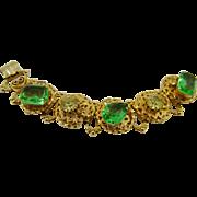 Pristine Bookchain Bracelet ~ Large Stones